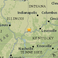 Recent Earthquakes In Or Around Indiana Indiana Geological Water