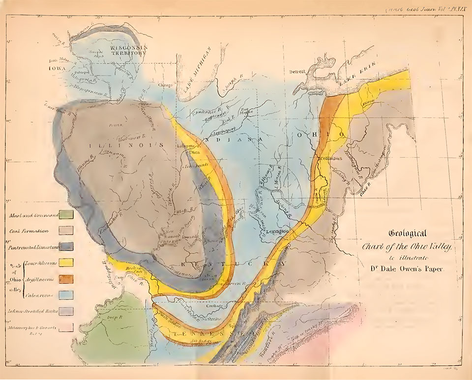 A geologic 