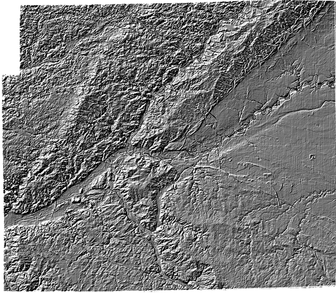 Data Sets DEM Terrain - Digital elevation model download