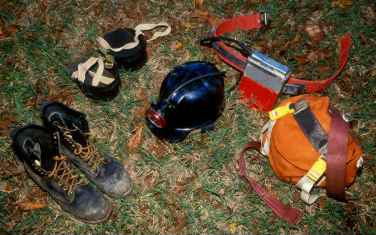 Image of caving equipment.