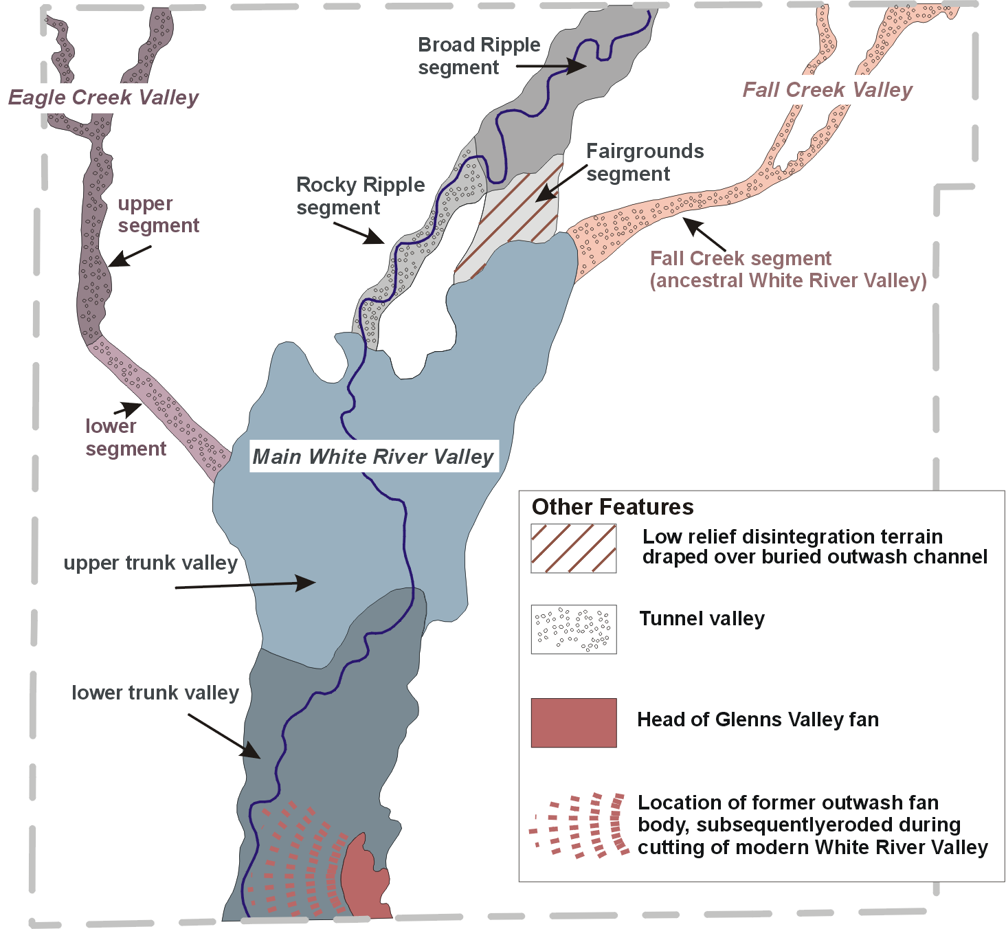 Glacial Geology Indiana Geological Water Survey