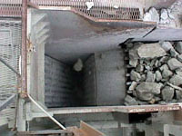 Photo showing typical jaw crusher.